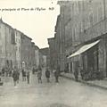 Trans-Rue principale et place de l'Eglise