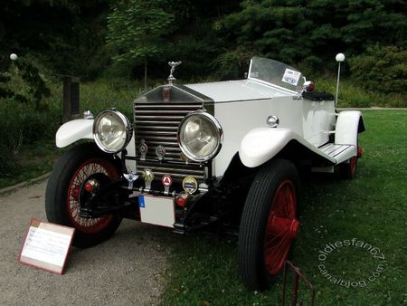 Rolls Royce 20 hp torpedo 1927 Internationales Oldtimer Meeting Baden Baden 2011 2