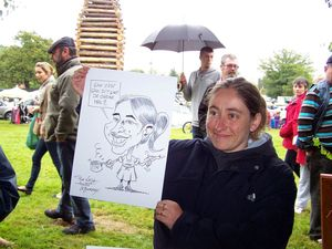 Caricature en direct BOURSIER 2
