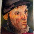 Détail portrait selon Lucas cranach