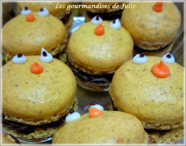 macaron poussin paques 2