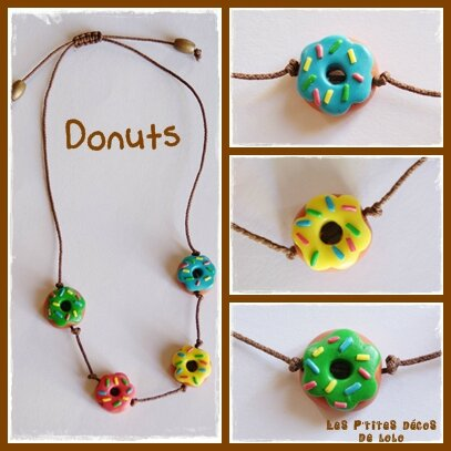 Collier donuts