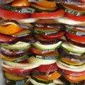 Tian de légumes inspiré de ma marraine