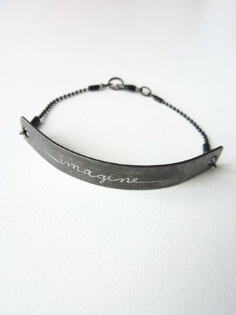 bijoux gravés bracelet imagine 1