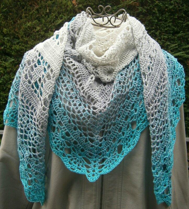 sac+2 châles+laine bordeaux 015