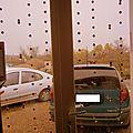 Noël 2012 # 6 #: rideaux de cotillons multicouleurs