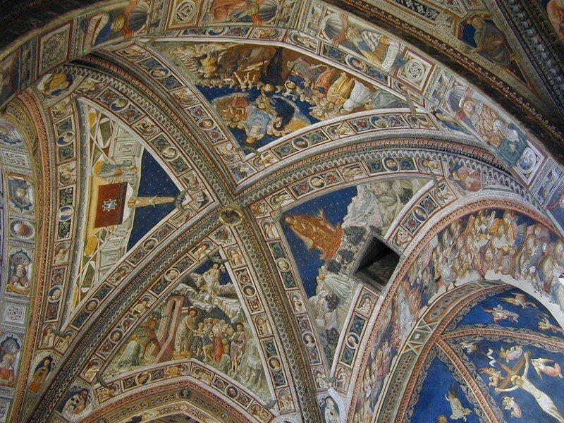 - Plafond par le Vecchietta
