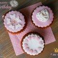 Cupcakes d'anniversaire et recette des muffins au chocolat 8/8
