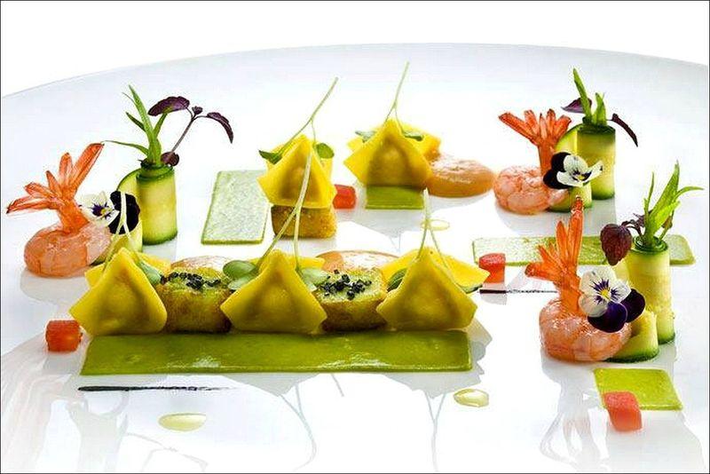 J h site entre cuisine et jardinage gustatif visions for Decoration a l assiette