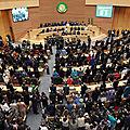 Objection de nombreux etats à une décision du président algérien du conseil de paix et de sécurité de l'ua