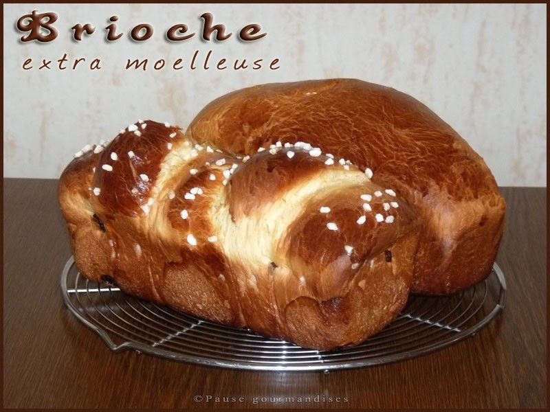 Brioche extra moelleuse machine pain ou thermomix pause gourmandises - Brioche avec machine a pain ...