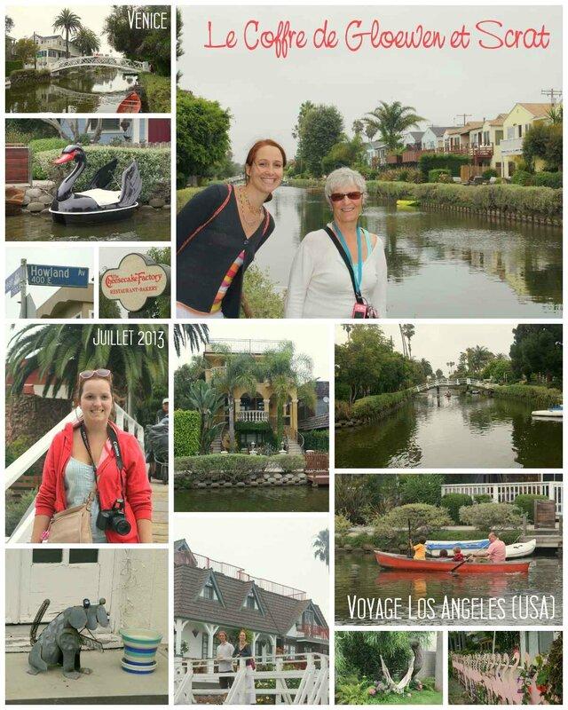 Promenade sur les canaux de Venice