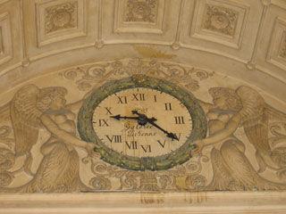 11a - Passage Couvert - Galerie Vivienne - Sculptures sous la verrière.