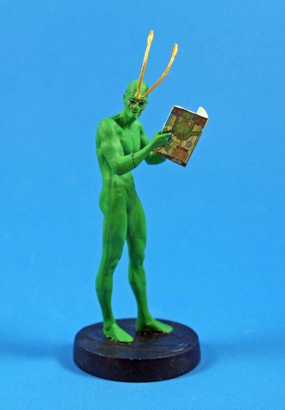 ambush bug eaglemoss