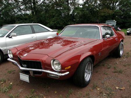 chevrolet camaro Super Sport 350 coupe 1972 bourse de crehange 2011 1