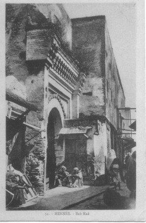 صورة قديمة لمدينة مراكش