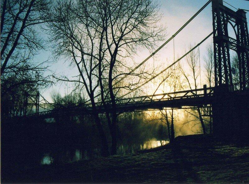 Le Pont suspendu de St Bauzille de Putois