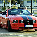 Ford mustang GT convertible (Rencard du Burger king septembre 2011) 01