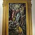 L'immaculée conception du peintre el greco au musée paul-valéry de sète
