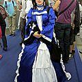 Cosplay Robe Bleue