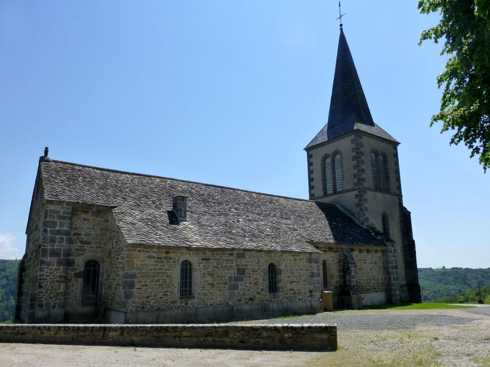 église de Singles, en partie romane