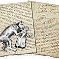 Un loup monstrueux en vendée en 1804