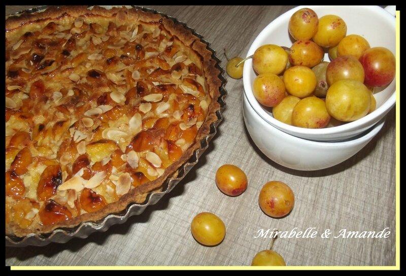 tarte mirabelle 1