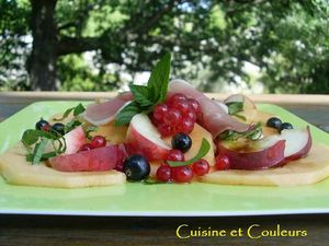 Salade de Fruits huile d'olive