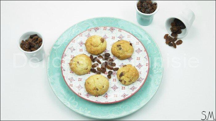 Biscuits aux raisins secs 2