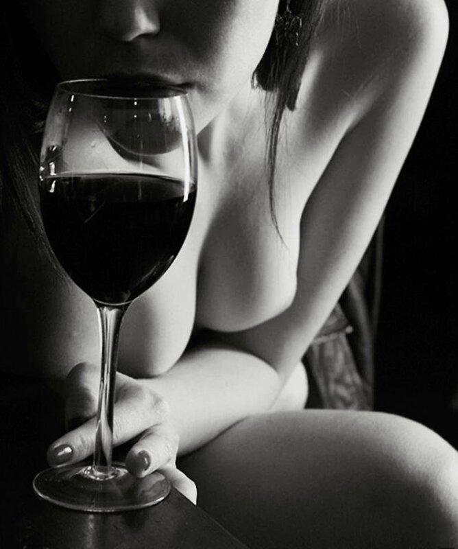 Nude Woman Wine