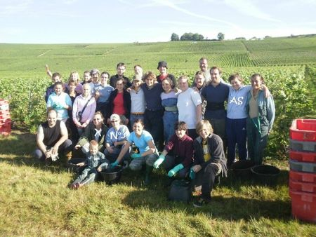 Vendanges 2011 photo groupe noms