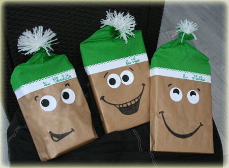 Paquets Cadeaux Originaux Les Lutins C 39 Est Bient T No L