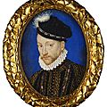 Style of françois clouet (c. 1520-72), charles ix, king of france (1550-1574), c.1572-1590