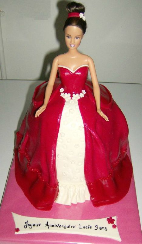 Gateau Barbie #3