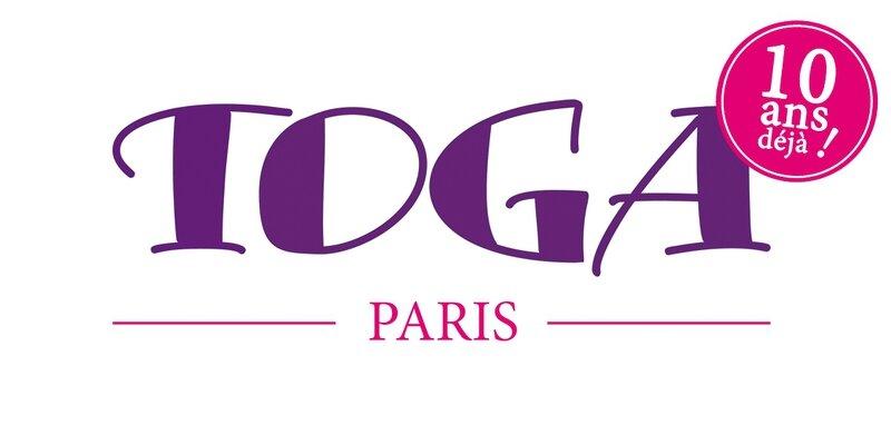 Logo Toga Paris 10 ans