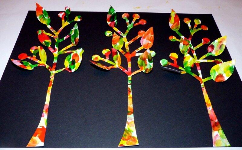 176_Arbres Automne_Trois petits arbres (37)