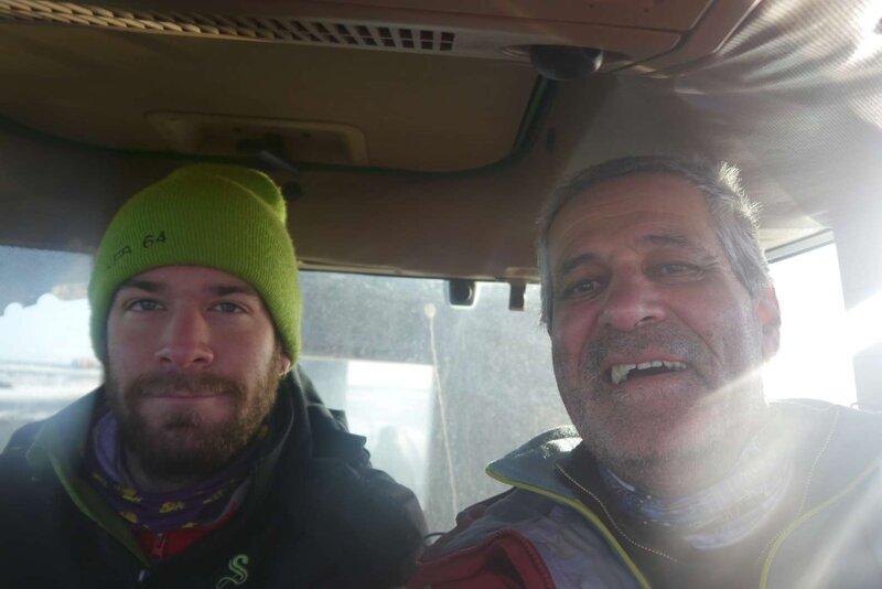 Avec Antoine
