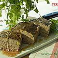 Terrine de sanglier et pistaches, sans gluten et sans lactose