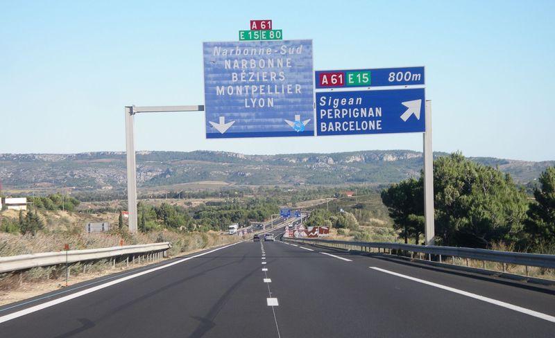 A68 autoroute #