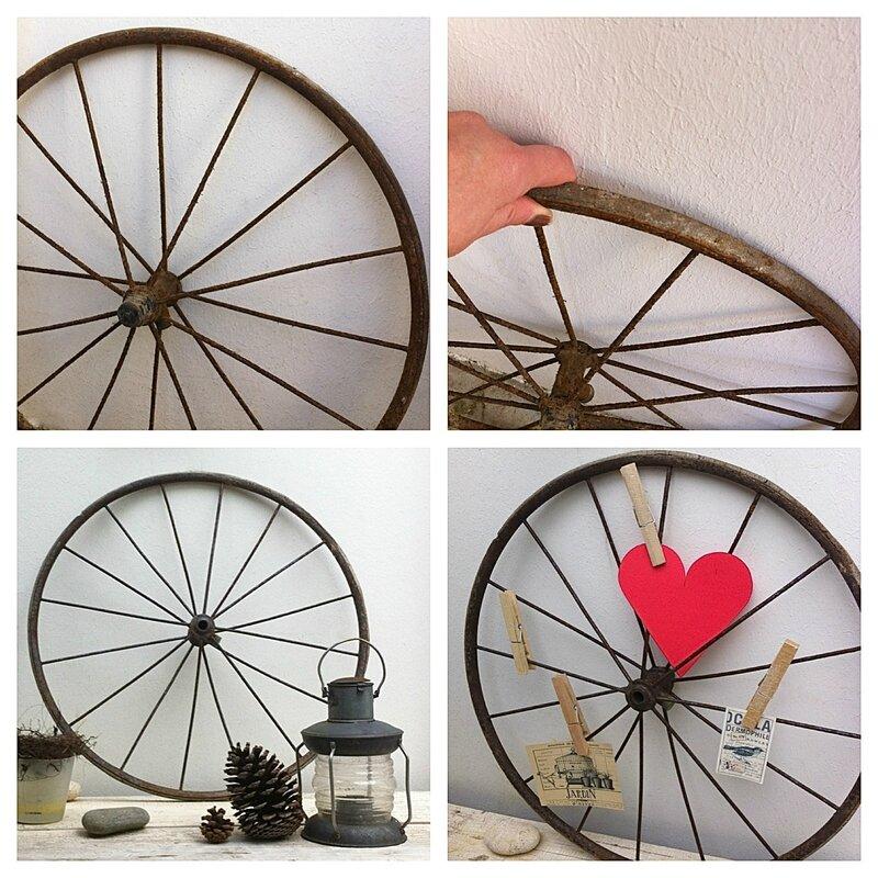 pêle-mêle en roue de landeau