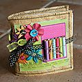 mini album Bonheur kit Scrapotin -03/10/2011