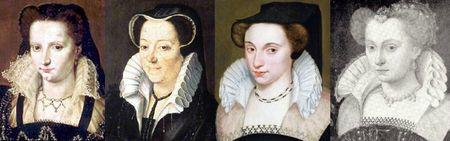 Portraits de 1575 à 1578