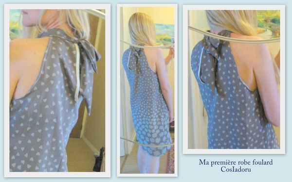 La robe foulard I5