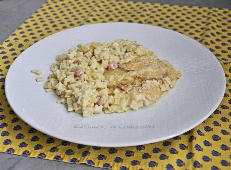 Croziflette assiette