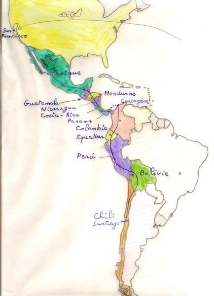 carte commentée