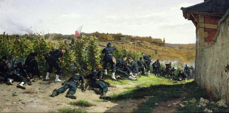 Berne-Bellecour, Les tirailleurs de la Seine au combat de la Malmaison