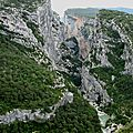 Gorges du Verdon, point sublime