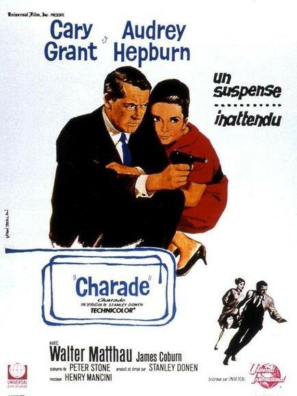 Affiche de Charade