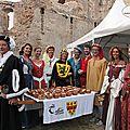 Banquet médiéval au château de montaner