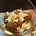 Boulettes de veau pour tartine de fromage à la confiture (sans oeuf, sans matière grasse)
